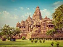 Kjaruharotempels, India royalty-vrije stock foto's