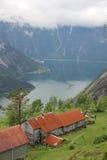 KjeÃ¥sen góry gospodarstwo rolne Zdjęcie Stock
