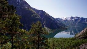 Kjeåsen Norwegia Fotografia Royalty Free