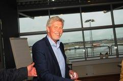 Kjeld Jacho Jorgensen, directeur et Président Billund international aéroport Images stock