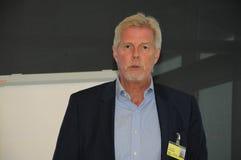 Kjeld Jacho Jorgensen, directeur et Président Billund international aéroport Photos stock