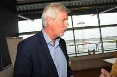 Kjeld Jacho Jorgensen, directeur et Président Billund international aéroport Photographie stock libre de droits