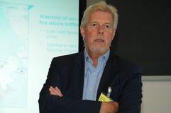 Kjeld Jacho Jorgensen, directeur et Président Billund international aéroport Photographie stock