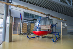 Kjeller pk x-1直升机 免版税库存照片