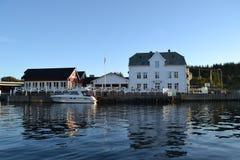Kjelstraumen Noruega Fotos de Stock