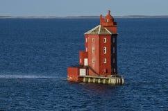 Kjeungskjær lighthouse, Norway Royalty Free Stock Photography