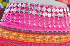Kjol och smycken arkivbilder