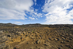 Kjolur Lava fields Royalty Free Stock Photos