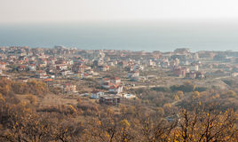KK Saint Vlas in Bulgaria, winter Stock Images