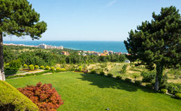 KK St. Vlas in Bulgaria. Bulgaria - a favorite vacation spot of tourists from all over the world stock photography