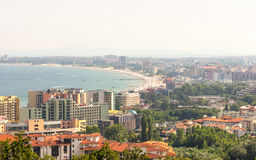KK Sveti Vlas and Bay Sunny Beach, Bulgaria Royalty Free Stock Photo