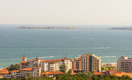 KK Sveti Vlas and Old Nesebar in Bulgaria Royalty Free Stock Photo