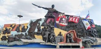 KKK-Monument in Manilla, Filippijnen Royalty-vrije Stock Afbeelding