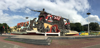 KKK zabytek w Manila, Filipiny Fotografia Stock