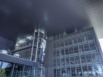 KKL-kultur och kongressmitt i Lucerne, Schweiz royaltyfri foto