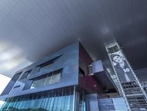 KKL-kultur och kongressmitt i Lucerne, Schweiz fotografering för bildbyråer