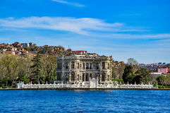 Küçüksu Palace (Kucuksu Palace) seen from Bosphorus strait, Istanbul, Turkey Stock Image