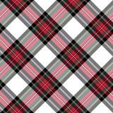 Klä textur för tyg för den sömlösa modellen för stewart tartan diagonal Royaltyfria Foton