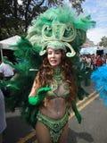 klädd green Royaltyfri Bild