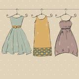kläder vektor illustrationer