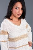 kläder broderad indier Royaltyfri Bild