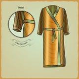 Kläder för simmare Inrista stil 3 Royaltyfri Bild