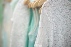 Kläder i lagret Royaltyfria Bilder