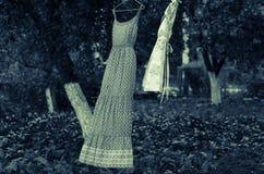 Kläder i luften Royaltyfri Fotografi
