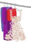 kläderklänning Royaltyfria Bilder