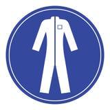 kläderskyddskläder royaltyfria bilder