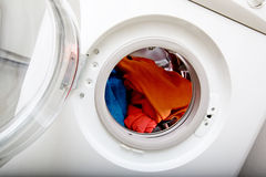 kläderwash Arkivbild