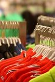 klädlager Fotografering för Bildbyråer