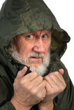 Kläglicher älterer Mann Lizenzfreies Stockbild