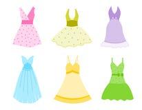 klänning Fotografering för Bildbyråer