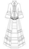 klänning Royaltyfri Foto