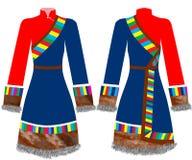 klänning Arkivfoton