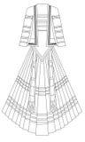 klänning Royaltyfri Fotografi