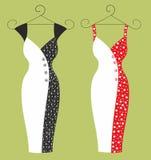 Klänning för kvinnor Royaltyfri Fotografi