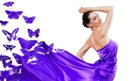 klänning long Royaltyfria Foton