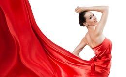 klänning long Arkivbild
