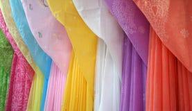 klänningar önskar damtoalett arkivbild