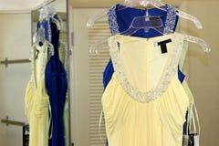 klänningar Royaltyfri Fotografi