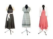 klänningar tre Royaltyfri Foto