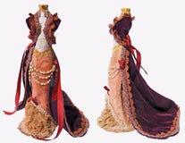 klänningen danade gammalt royaltyfria bilder