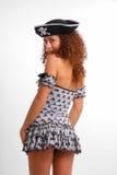 klänningen piratkopierar sexig kortslutning mycket Royaltyfri Fotografi
