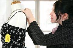 klänningen shoppar arkivfoto