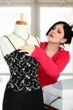 klänningen shoppar Royaltyfria Foton