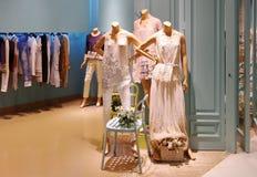Klänningen shoppar Royaltyfri Fotografi