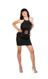 klänningflickabarn royaltyfri bild