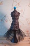 Klänningform Pin Cushion Royaltyfria Bilder